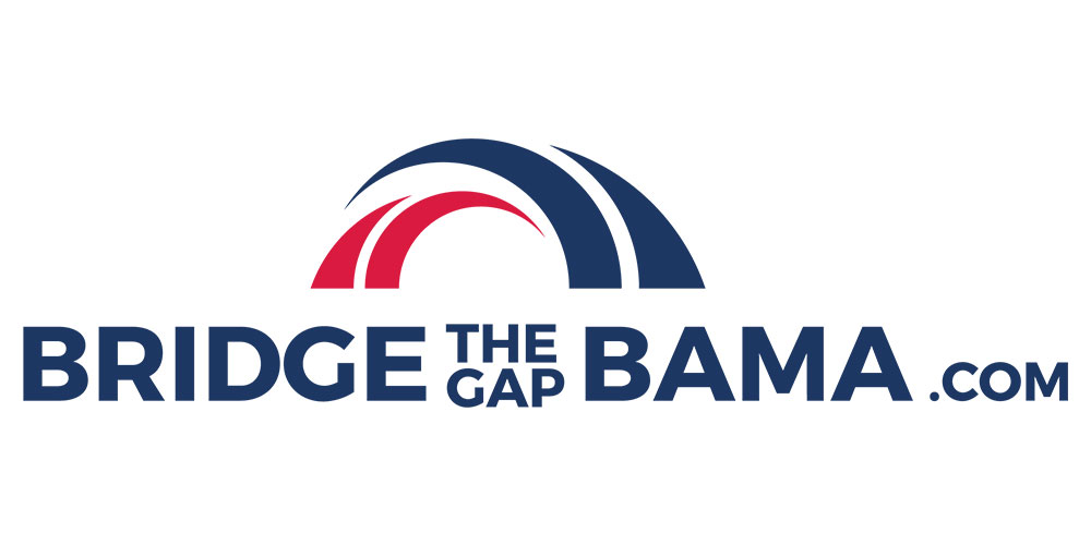 Bridge the Gap Bama logo