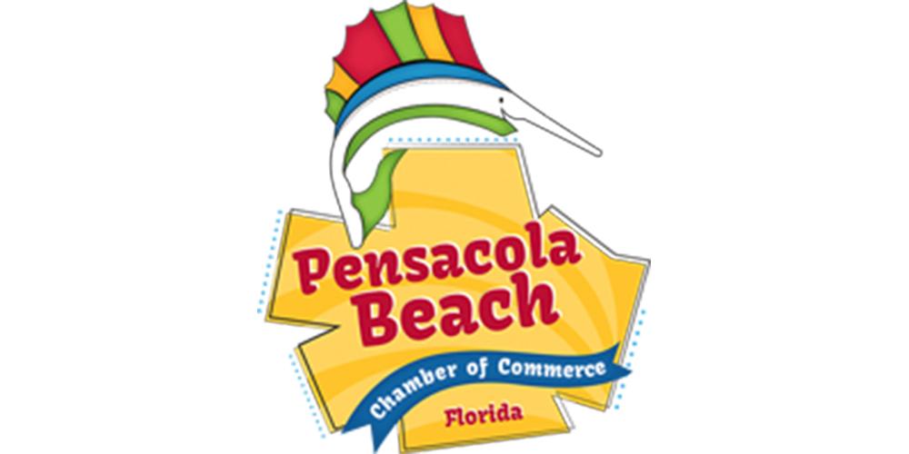 Pensacola Beach Chamber logo