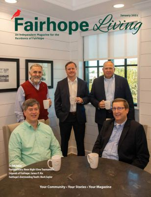 Fairhope Living Magazine January 2021 Cover