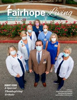 Fairhope Living Magazine November 2020 Cover