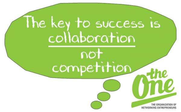 The key to success is collaboration not competition
