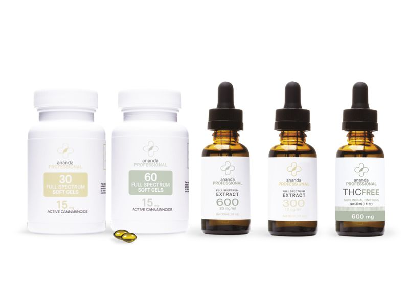 CBD capsules and tinctures