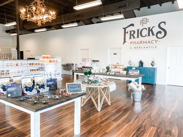 Fricks Pharmacy Interior