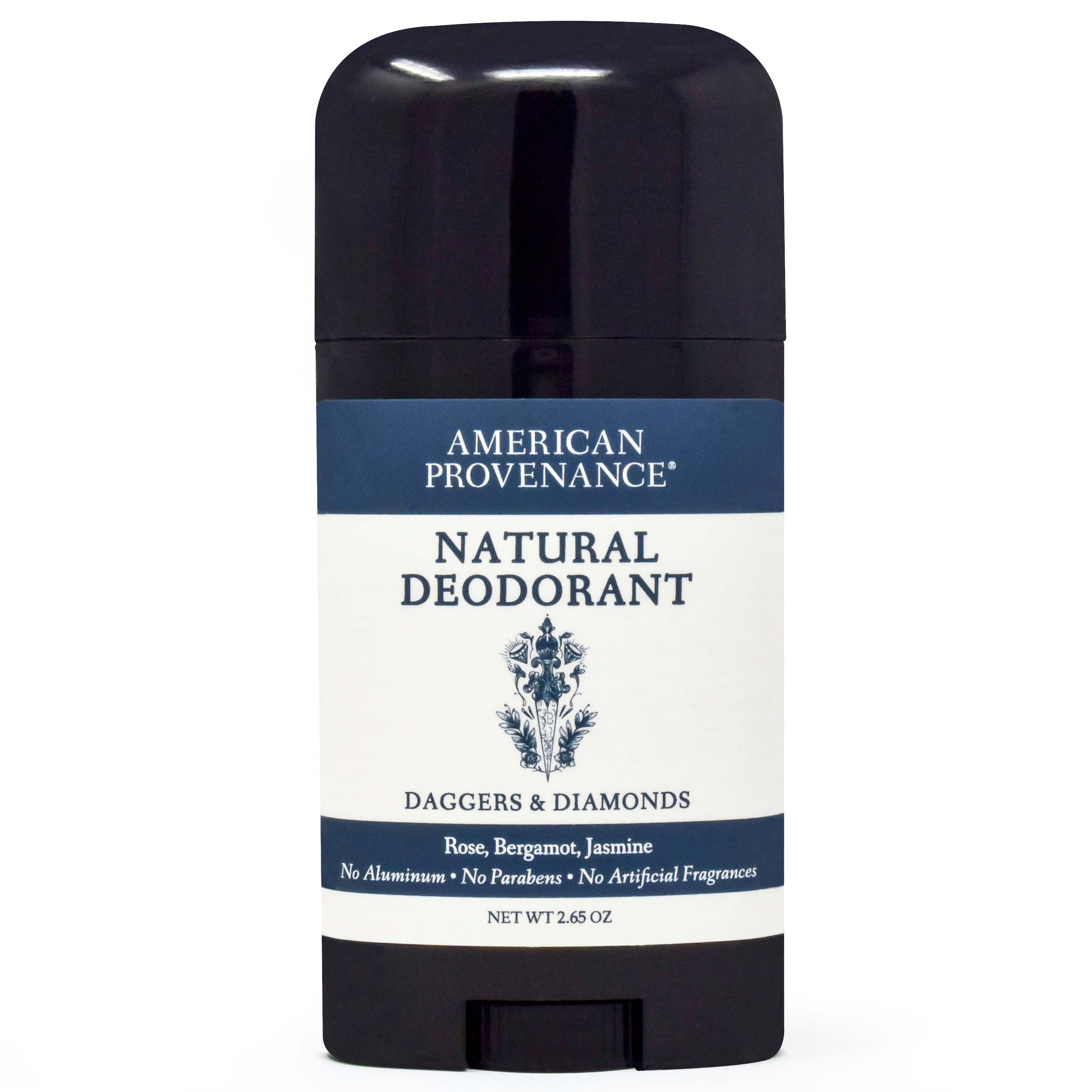 American Provenance Natural Deodorant Daggers + Diamonds