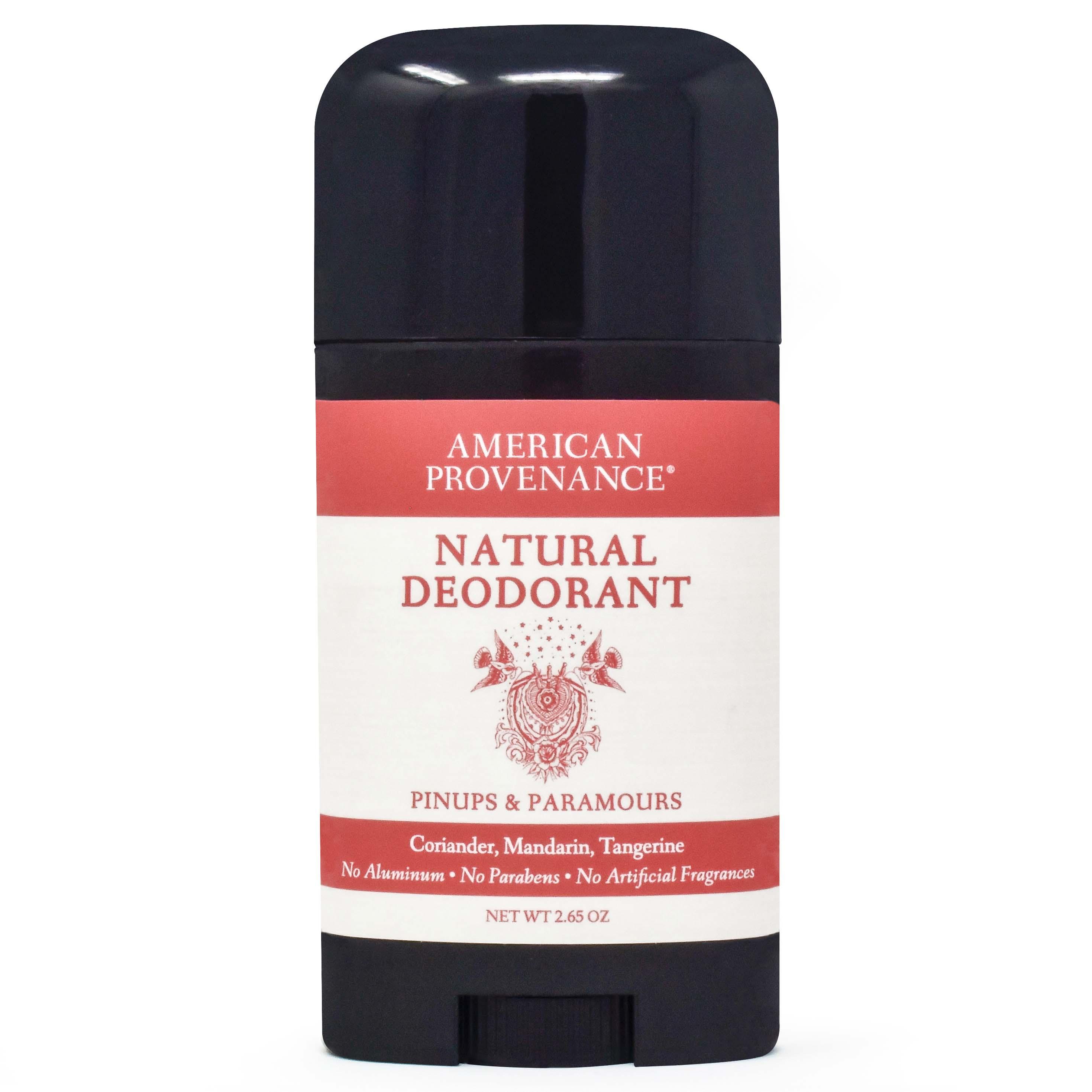 American Provenance Natural Deodorant Pinups + Paramours