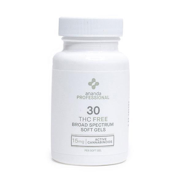 Ananda Professional THC FREE CBD 15mg 30 Capsules