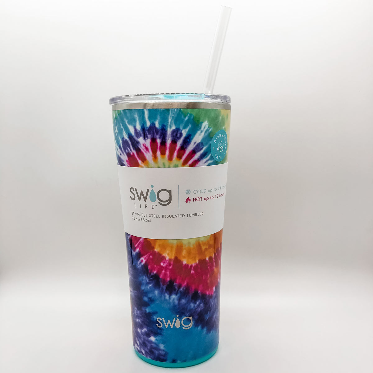 SWIG Swirled Peace Tumbler 22oz