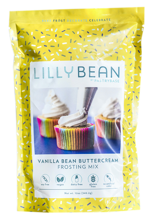 Lilly Bean Vanilla Bean Buttercream Frosting Mix