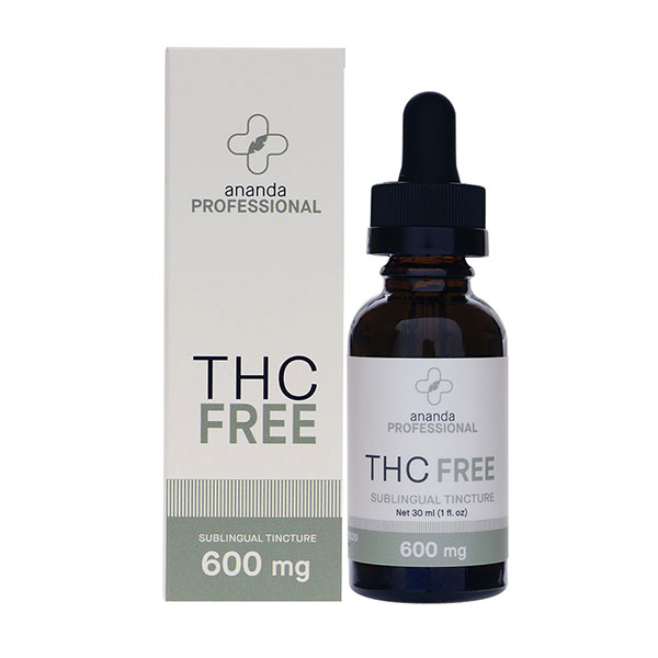 Ananda Professional Tincture 600mg THC Free