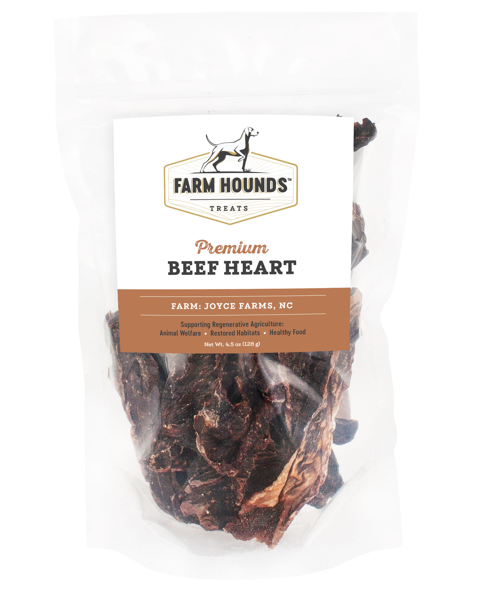 Farm Hounds Premium Beef Heart Treats