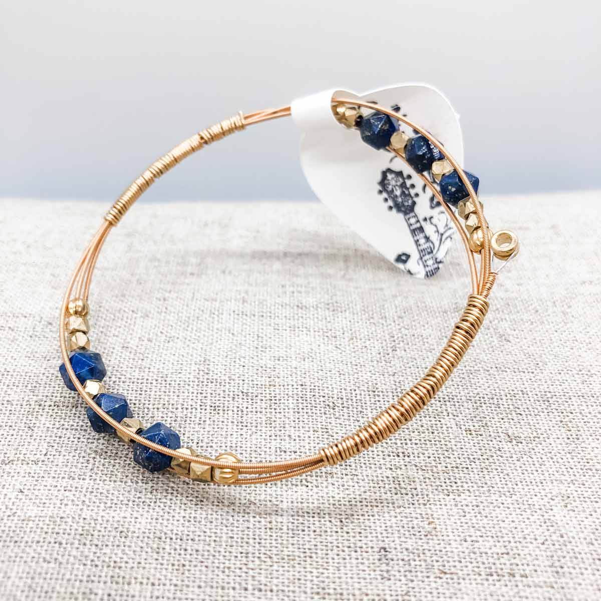 Dark Blue Bangle