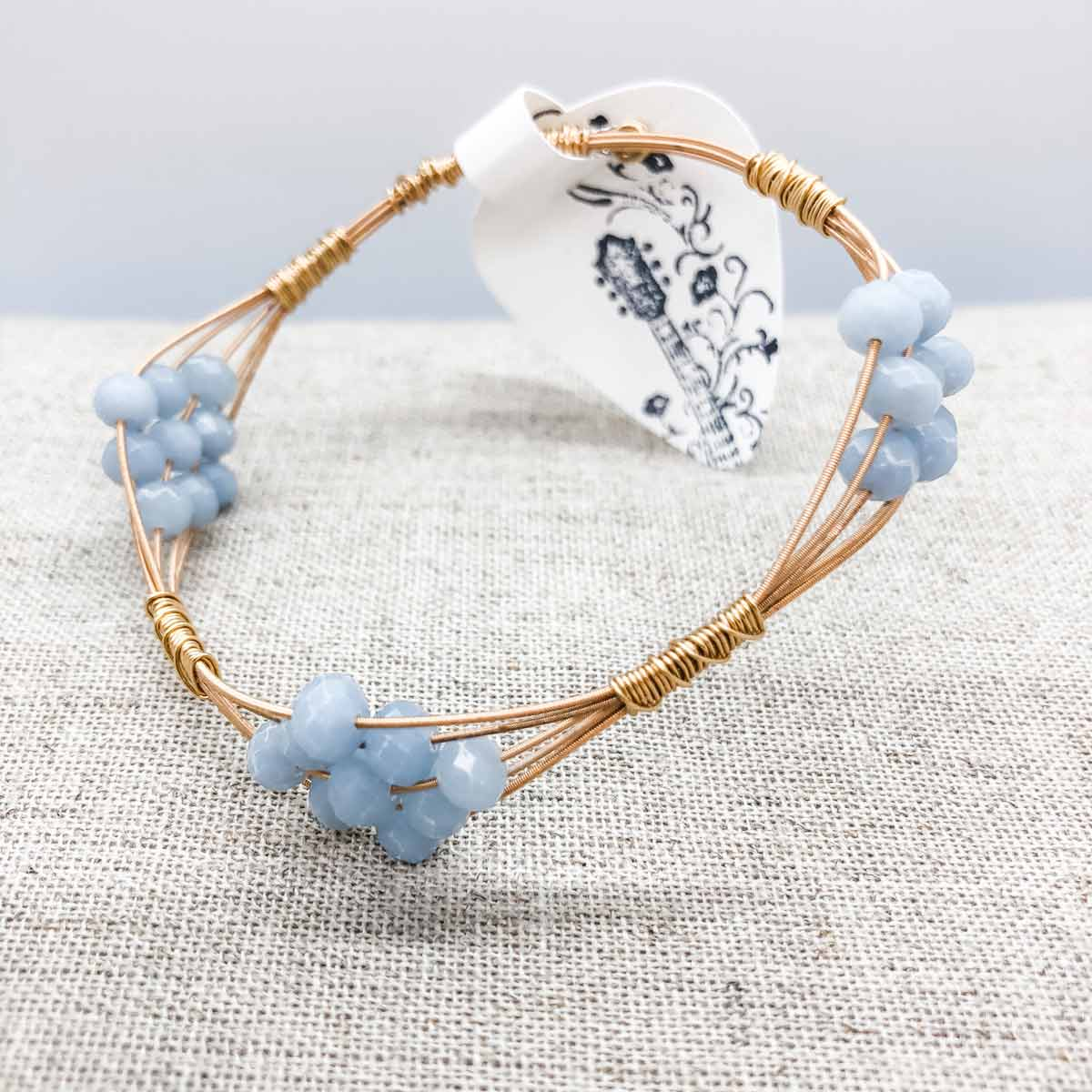 Light Blue Bangle