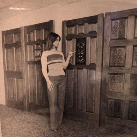 Barbara Salvaggio circa 1972