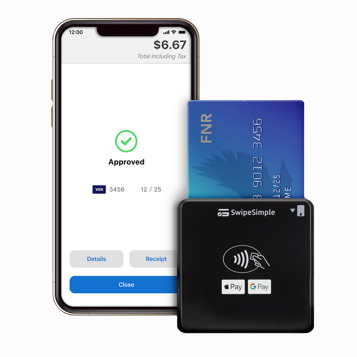 Swipe Simple mobile credit card readers for on-the-go payments