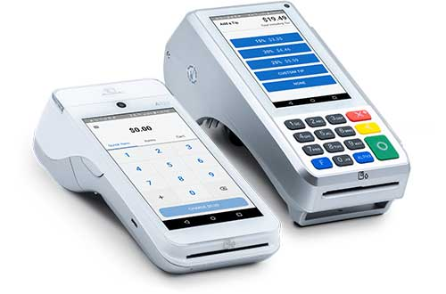 picture of swipe simple credit card terminals for instore credit card payments