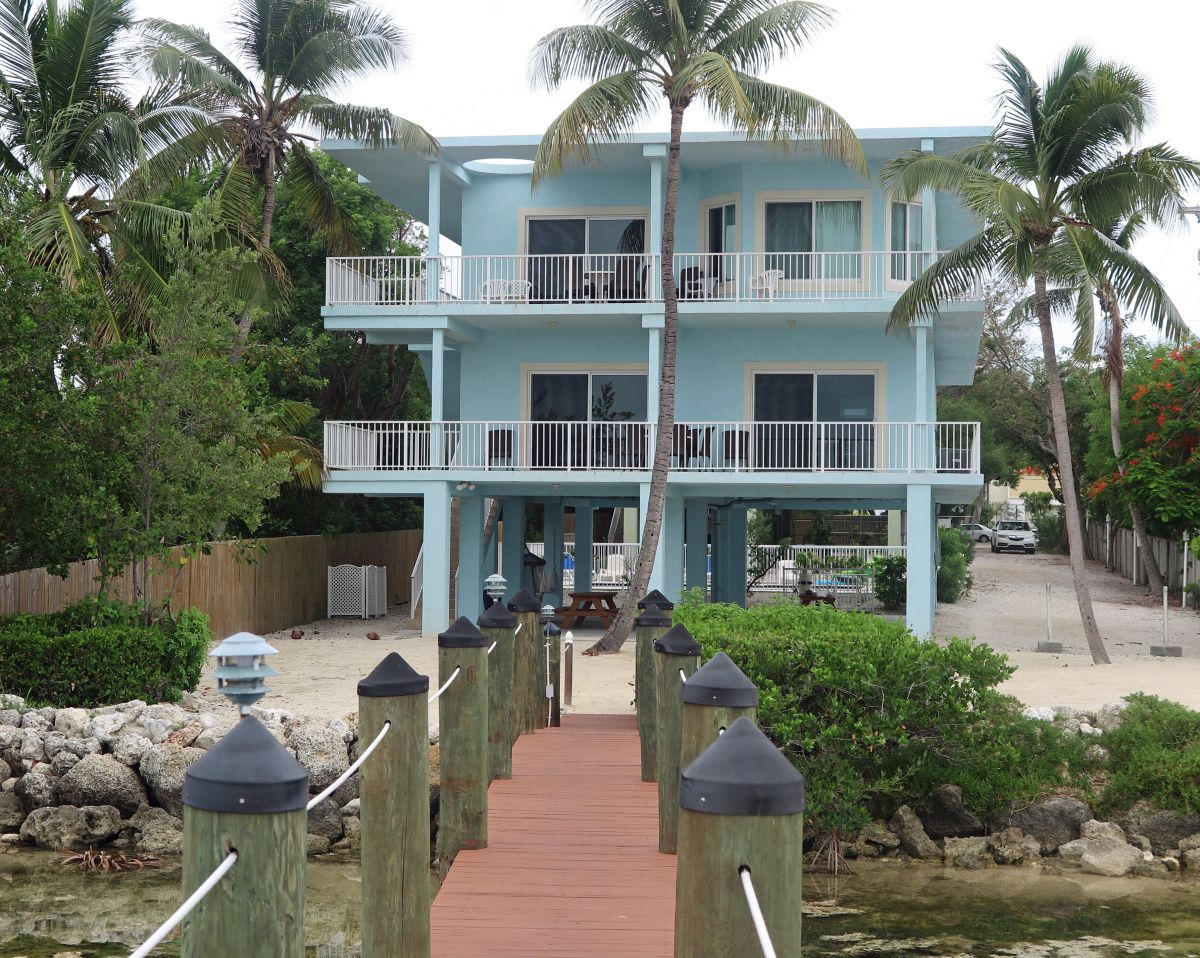 Front view of Key Largo Beach House