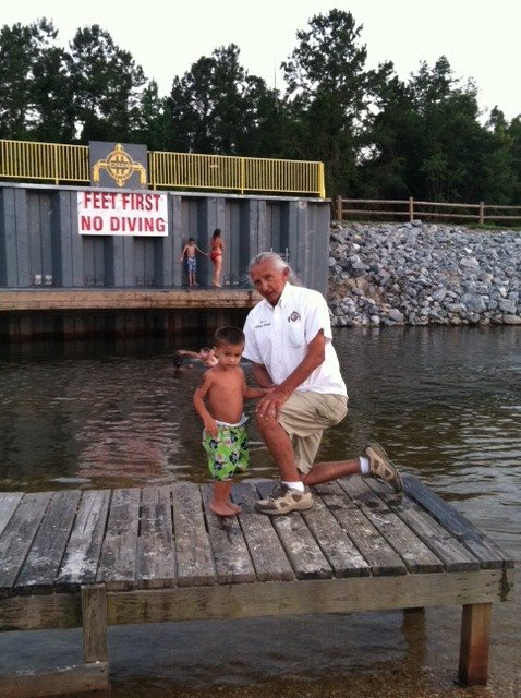 Fun at the dock