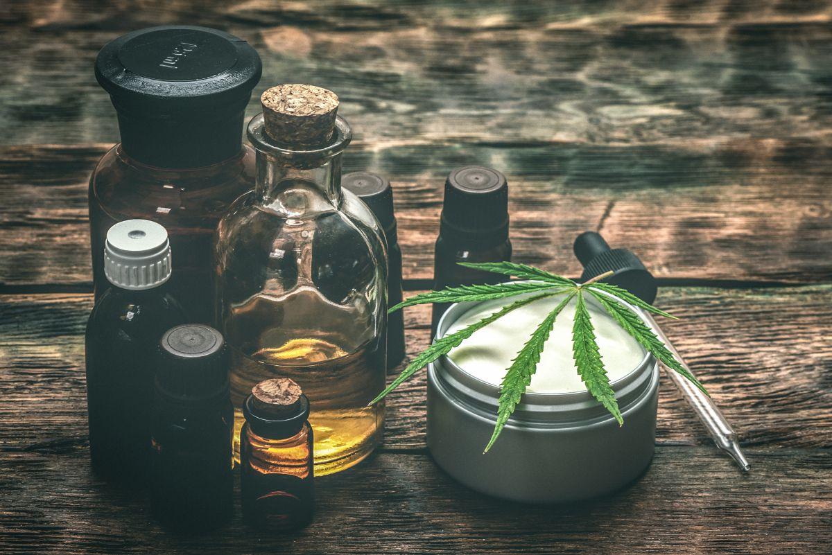 Image of CBD oils and balms