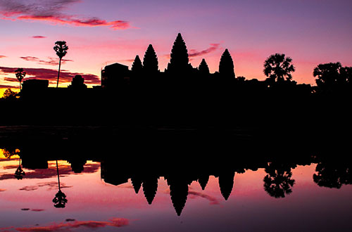 scenic image of Cambodia